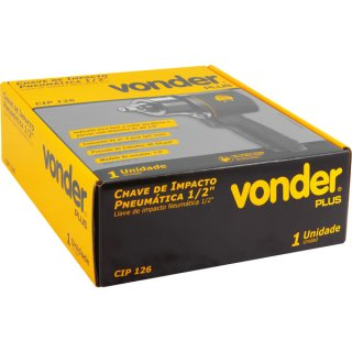 "Chave Impacto Pneumática 1/2""- 12,7 mm CIP 126 Vonder Plus"