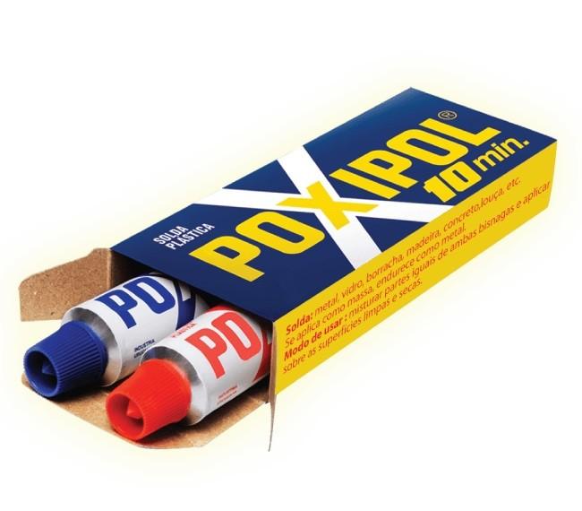 Cola Solda Plástica 108g 70ml - Poxipol