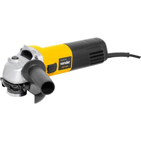 kit Esmerilhadeira Vonder  EAV 650 Watts 220v  Disco de Polir