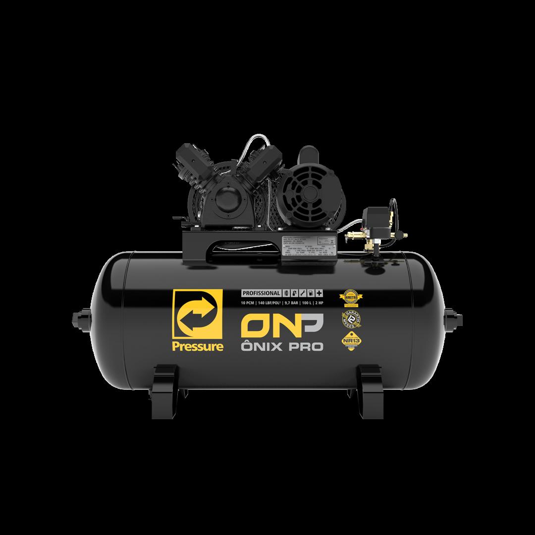 Compressor de Ar 100 Litros 10 Pés Pressure ONP 10/100