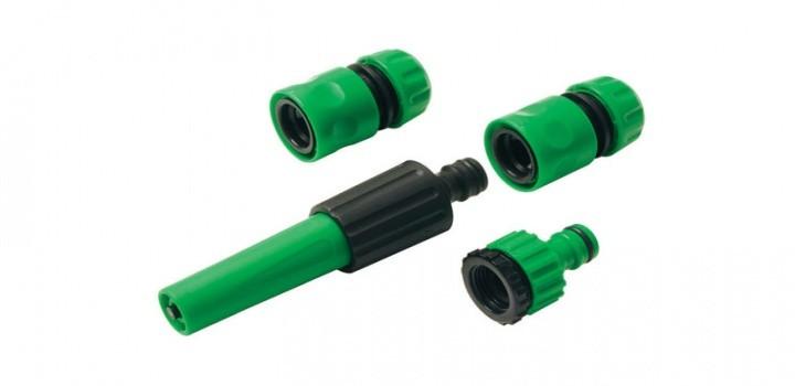 Conjunto de irrigação ajustável para mangueira- 4 peças