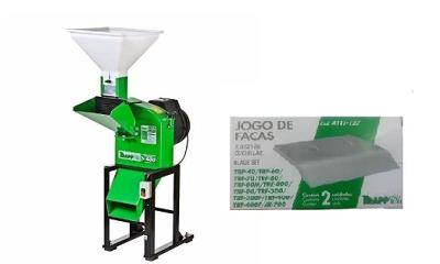 CÓPIA - Triturador Forrageiro - TRF 400 Super 2cv Bivolt + Jogo de Facas Brinde- Trapp