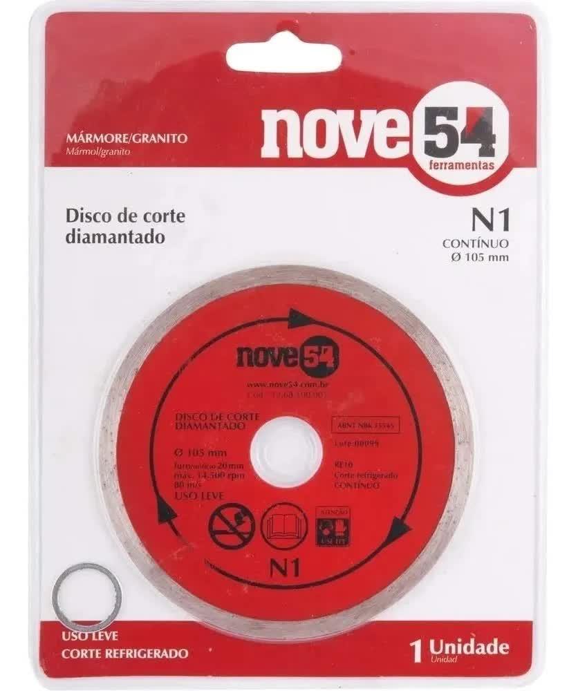 Disco De Corte Nove54 Diamantado N1 105mm