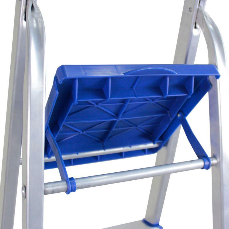 Escada Alumínio Doméstica 5 Degraus Bel