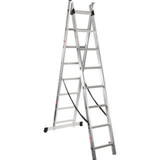 Escada Extensiva de Alumínio 2 x 7 degraus Vonder