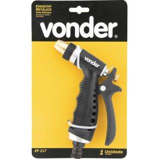 Esguicho metálico para jardim tipo pistola EP 217 Vonder