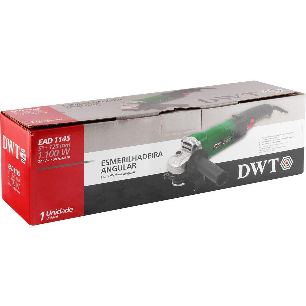 "Esmerilhadeira Angular 1100W 5"" EAD1145 220V DWT"