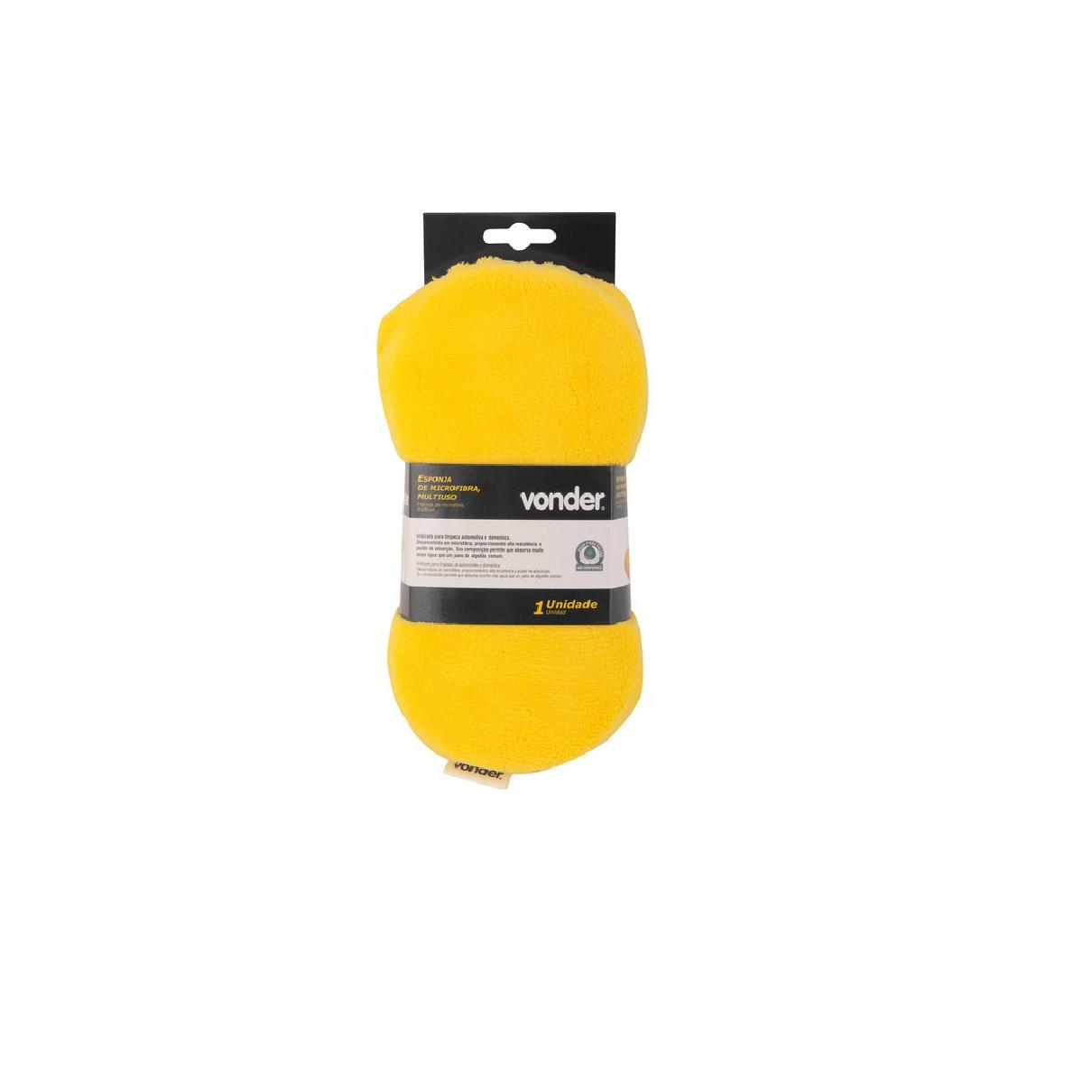 Esponja de Microfibra Multiuso VONDER