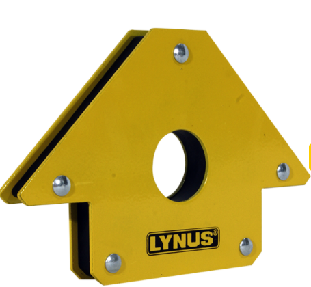 Esquadro Magnético para Soldador Lynus 35kg - EML-35