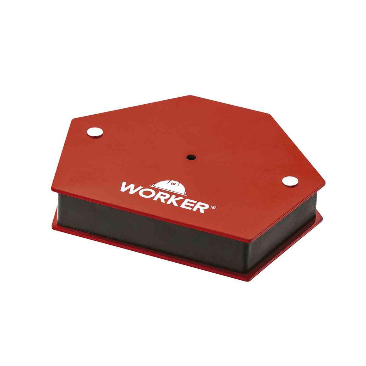 Esquadro Magnético Worker Hexagonal 30Kg
