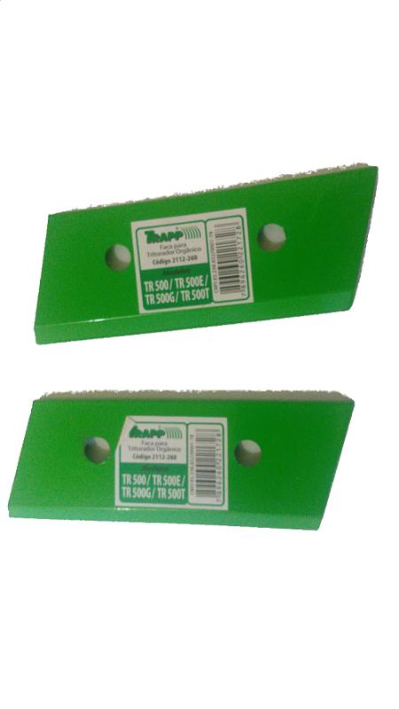 Faca dos Trituradores  Organicos tr-500/ e BIO 300