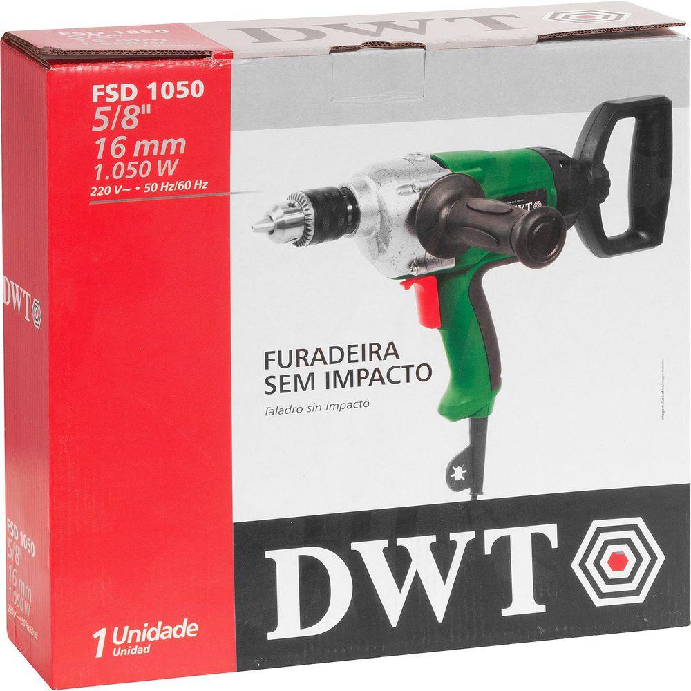 "Furadeira sem Impacto 1050W 5/8"" FSD1050 220V DWT"