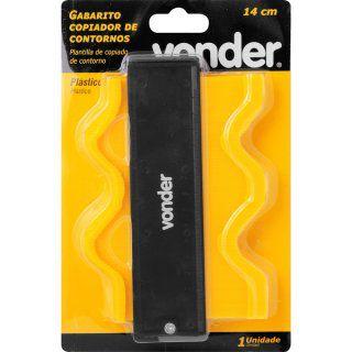 Gabarito copiador de contornos 14 cm VONDER