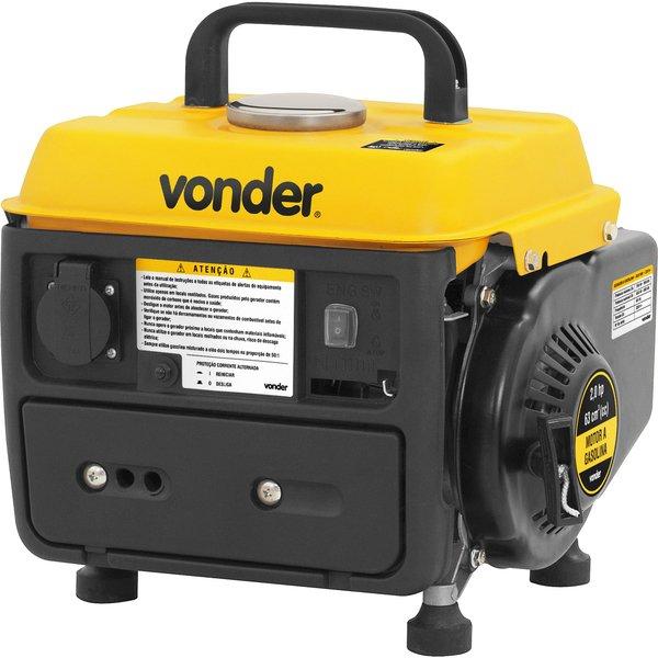 Gerador a gasolina 2 tempos GGV 950 220V VONDER