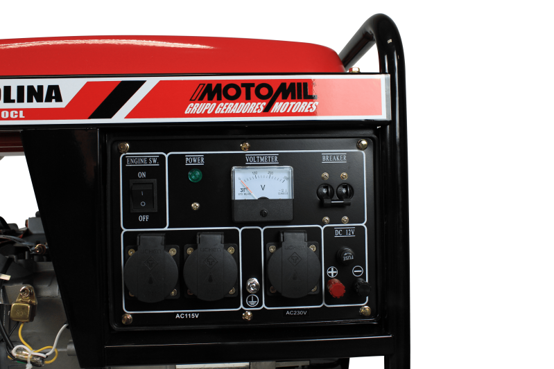 Gerador a Gasolina 6,5HP Partida Manual 220V MG3000CL Motomil