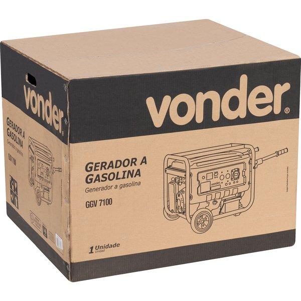 Gerador a gasolina 7100W GGV 7100 VONDER