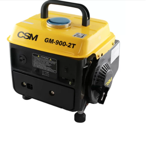 Gerador à Gasolina CSM GM 900 2 Tempos / Monofásico 220V
