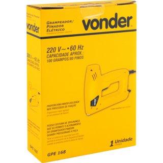 Grampeador/pinador Elétrico GPE 168 220v Vonder