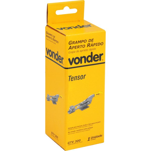 Grampo de Aperto Rápido Tipo Tensor GTV300 VONDER