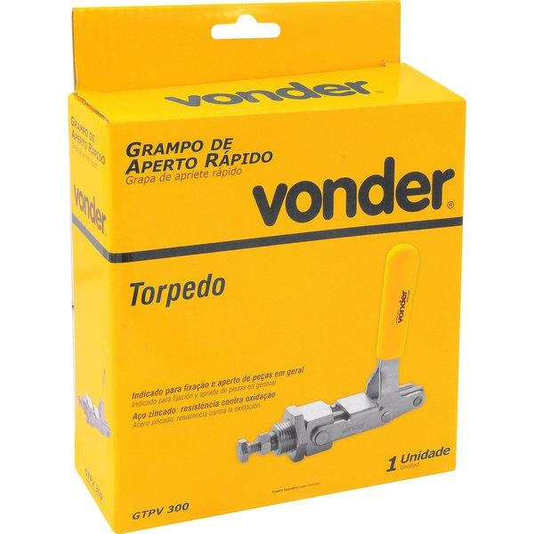 Grampo de aperto rápido torpedo GTPV 300 VONDER