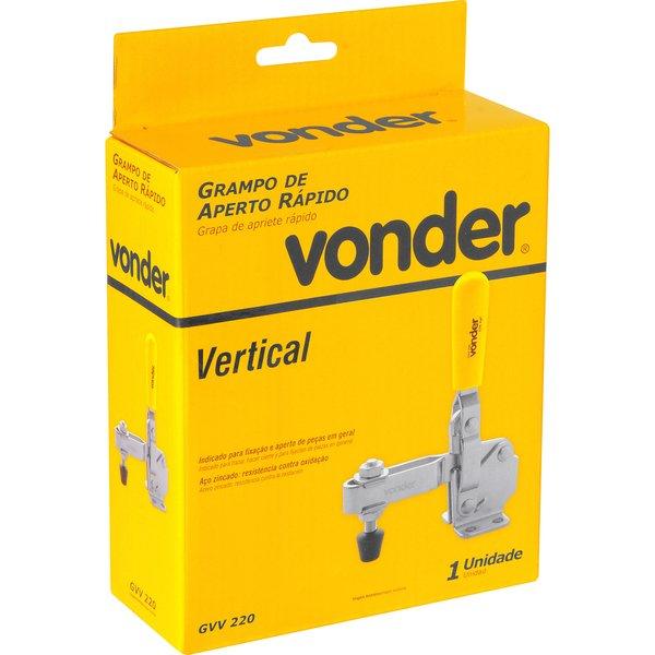 Grampo de aperto rápido vertical GVV 220 VONDER