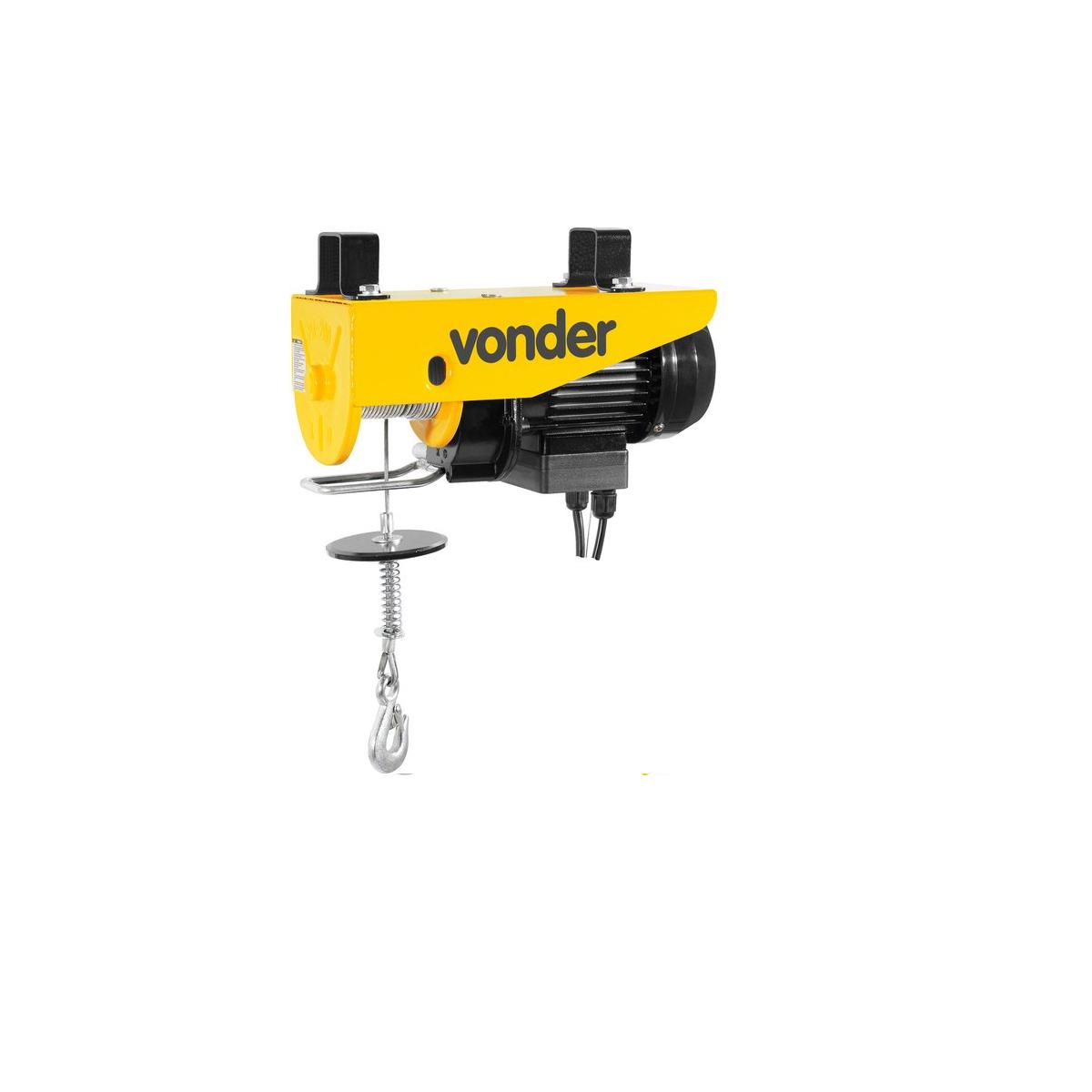 Guincho elétrico para 0,1 tonelada(0,1 tf)/0,2 tonelada(0,2 tf) GEV 200 220V VONDER