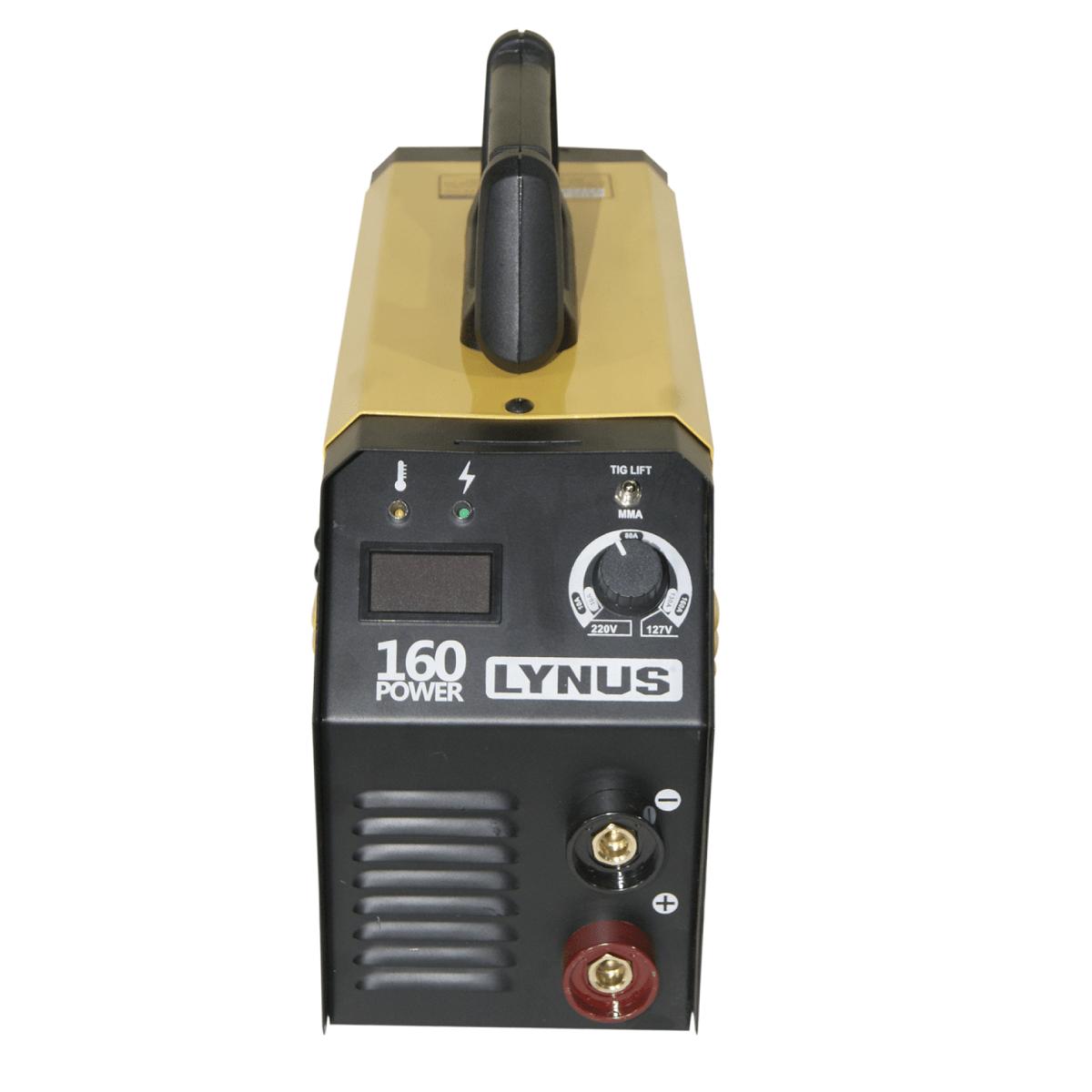 Inversor De Solda Power LIS-160 Bivolt Lynus