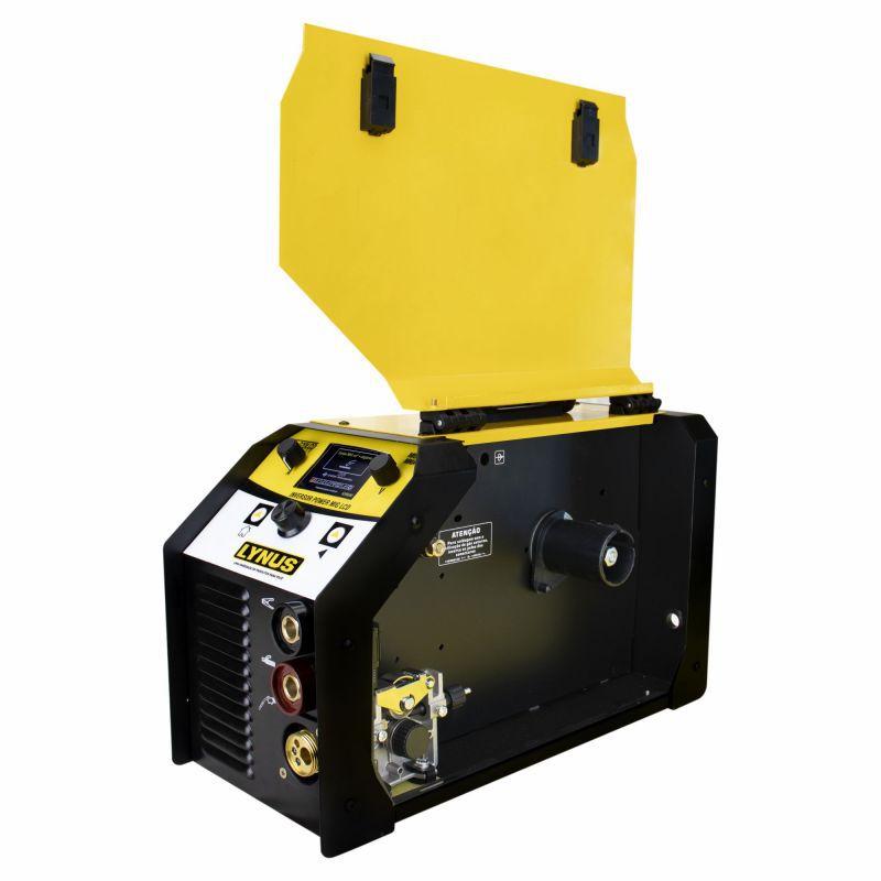 Máquina Inversora De Solda Power Lis-220 Lcd Lynus