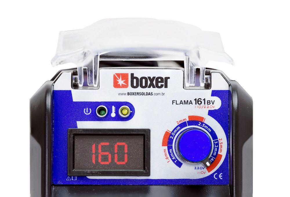 Inversora de Solda 160A FLAMA 161BV Boxer
