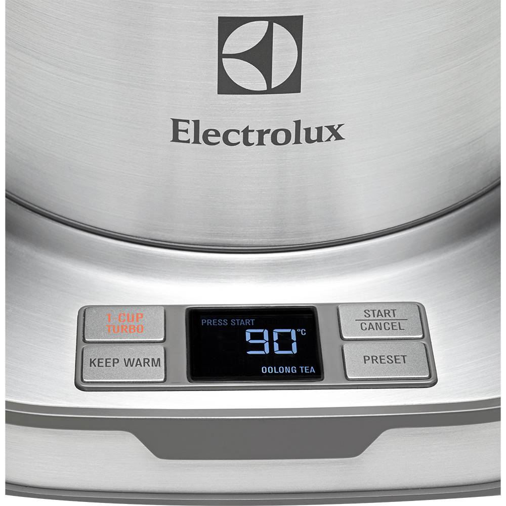 Jarra Chaleira Elétrica Expressionist Collection Controle de Temperatura - Electrolux