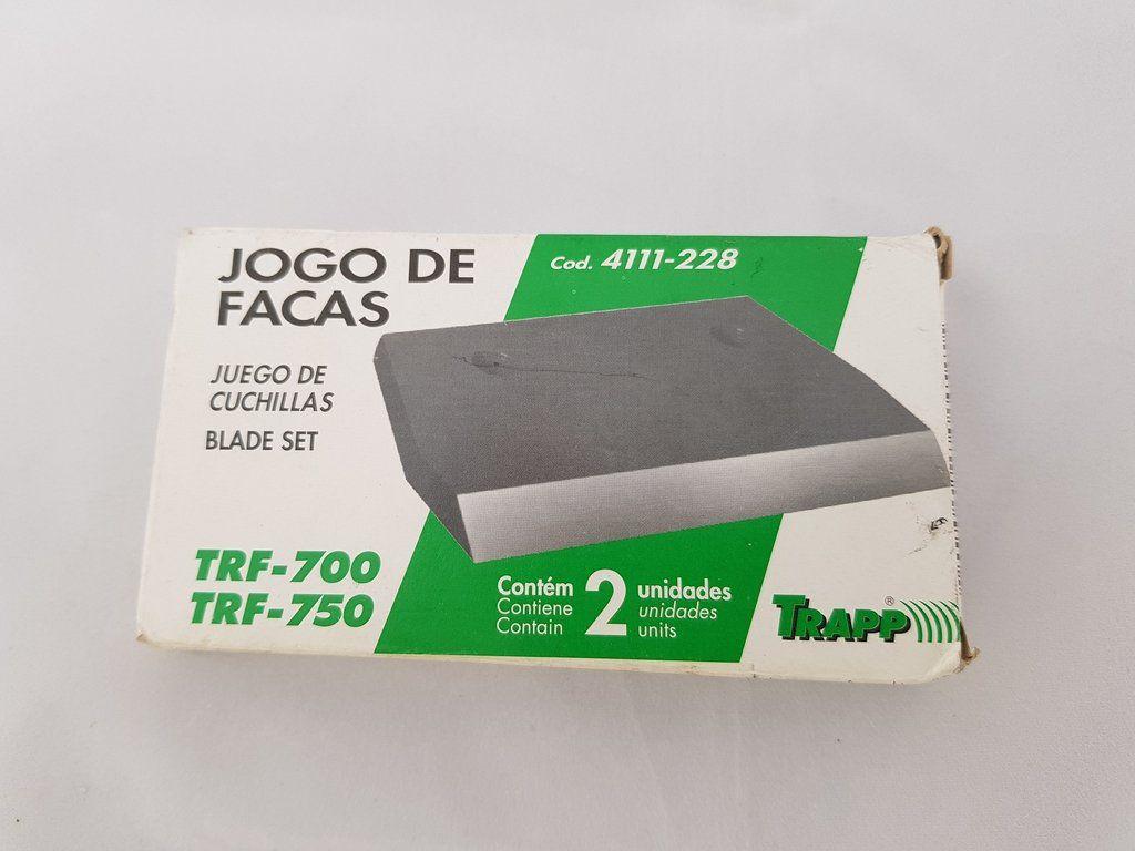 Jogo de Facas Trituradores trf700/700G/750