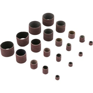 Jogo de Lixas Tubulares para furadeira/parafusadeira com 25 peças Vonder