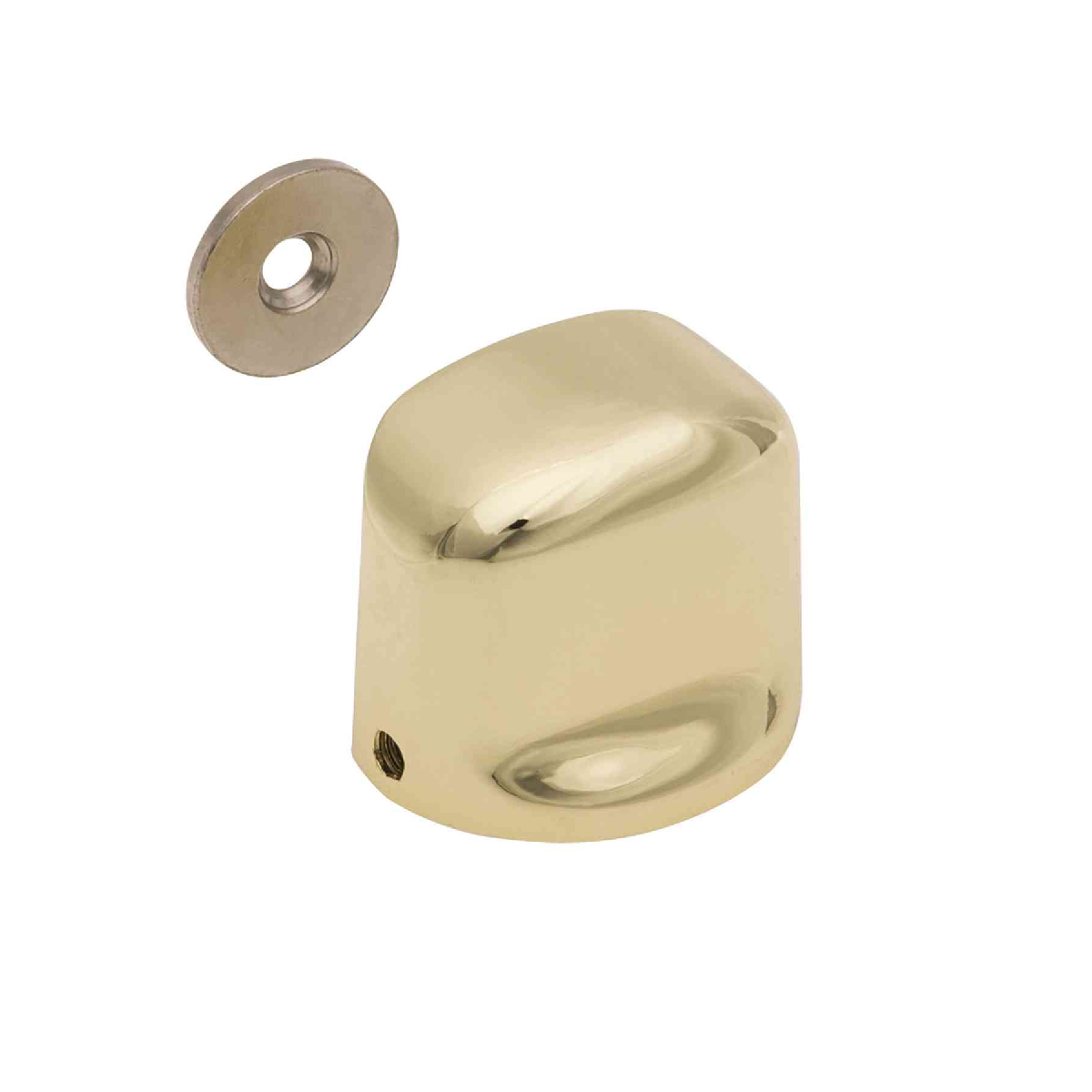 Kit 6 Fixador Porta Magnético Ouro Kala