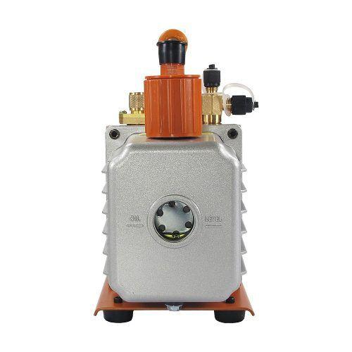 Kit Bomba de Vácuo 5 Cfm Duplo Estágio Bivolt  óleo 500ml