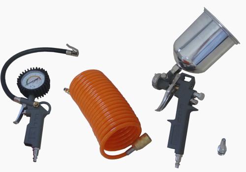 Kit de Acessórios para Compressor Lynus MAC 4pç