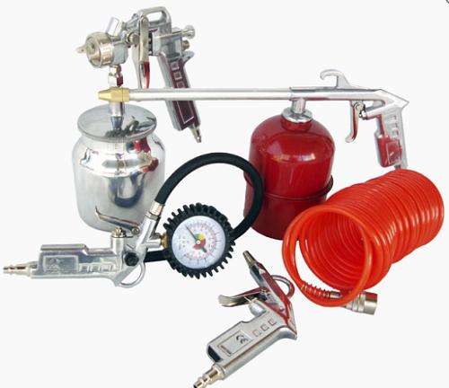 Kit de Acessórios para Compressor Lynus MAC 5pç