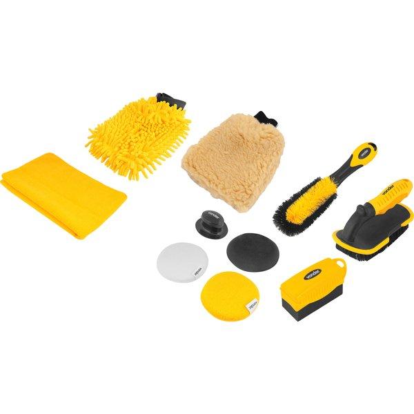 Kit P/ Limpeza Automotiva C/ 10 peças VONDER