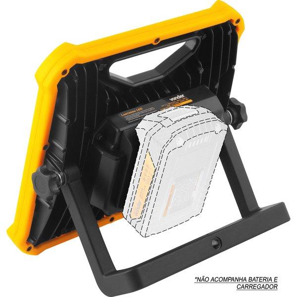 Lanterna de LED Bateria Intercambiável de 18V S/ Bateria S/ Carregador ILV1811 VONDER