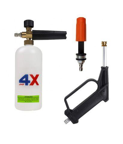 Lavadora Alta Pressão MB 176 Profissional 220v Com Kit de Espuma Hydronlubz