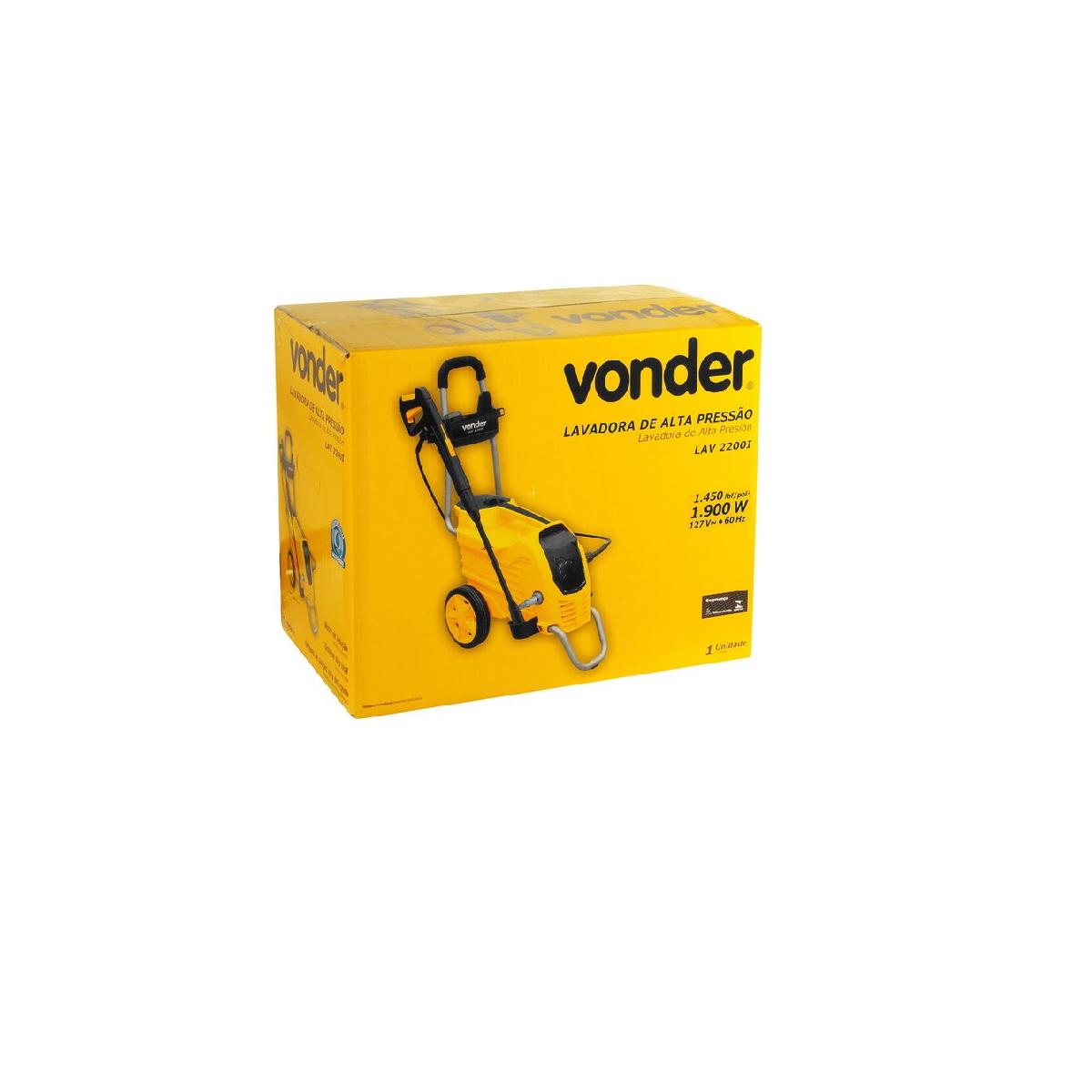 Lavadora de Alta Pressão LAV 2200I 127v Vonder