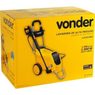 Lavadora de Alta Pressão LAV 2200I 220v Vonder
