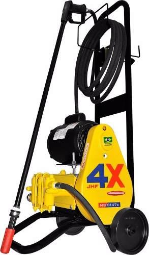 Lavadora Pressão Profissional Lava Jato 3 Pistões Kit Espuma 220v