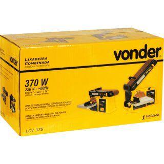 Lixadeira combinada LCV375 220V VONDER