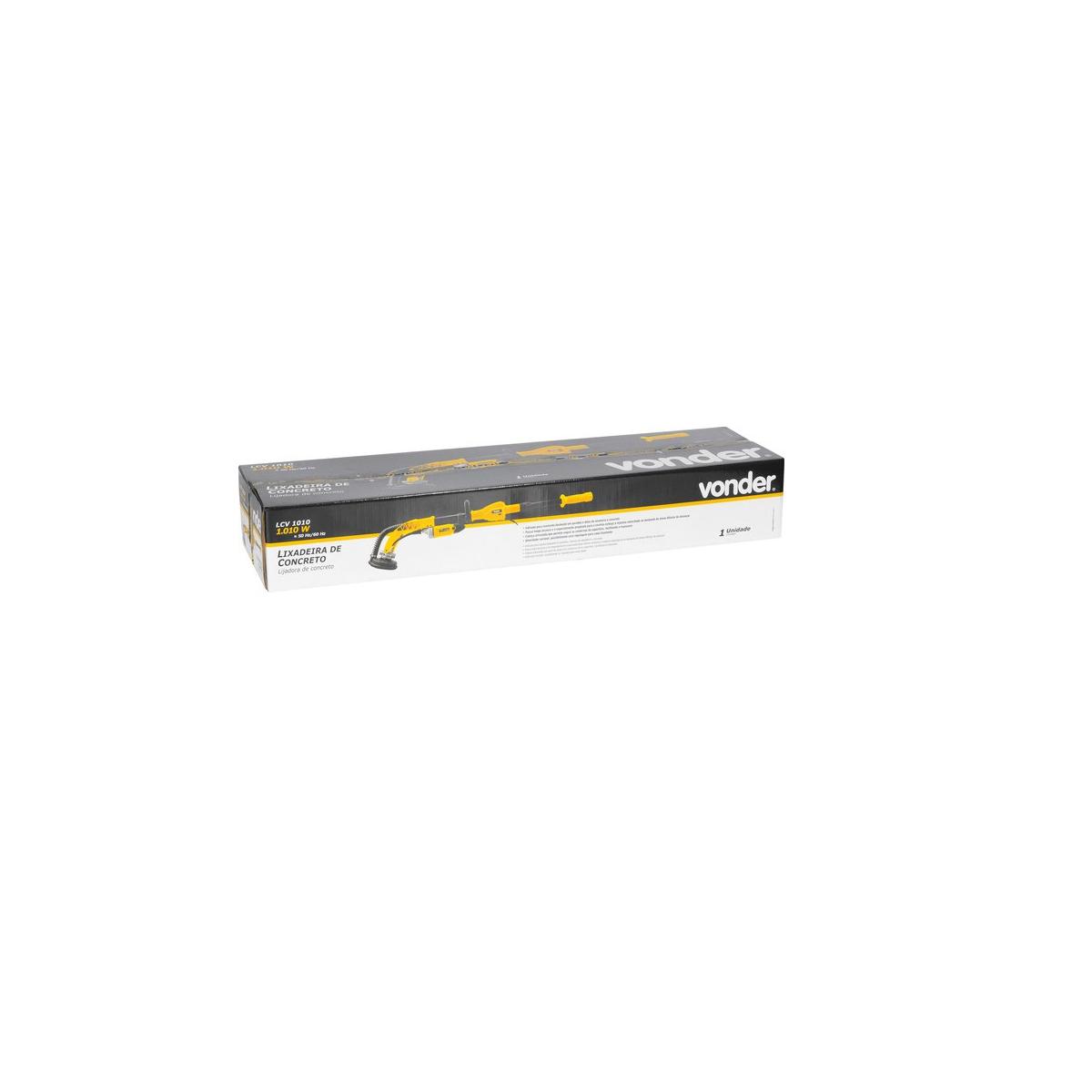 Lixadeira de concreto LCV1010 127V VONDER