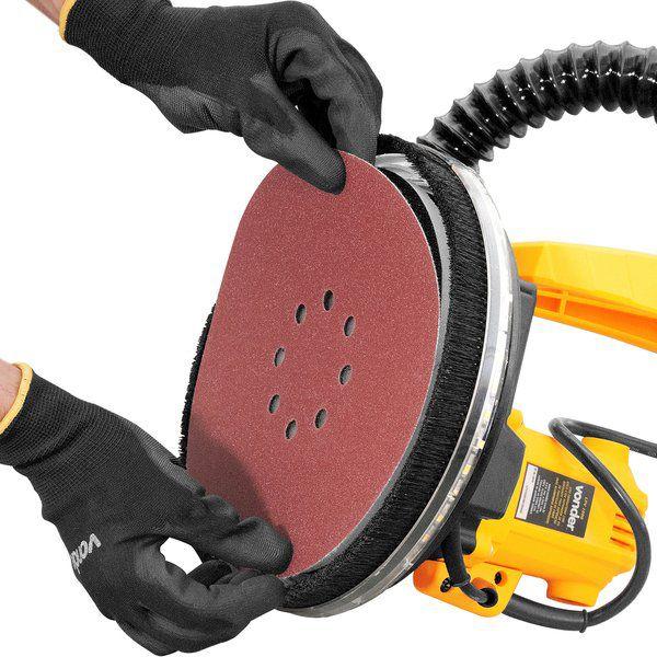 Lixadeira de parede LPV 1000 Com Aspirador 40 litros 220v