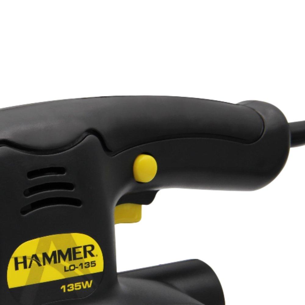 Lixadeira Orbital 135w 10.000rpm - Hammer