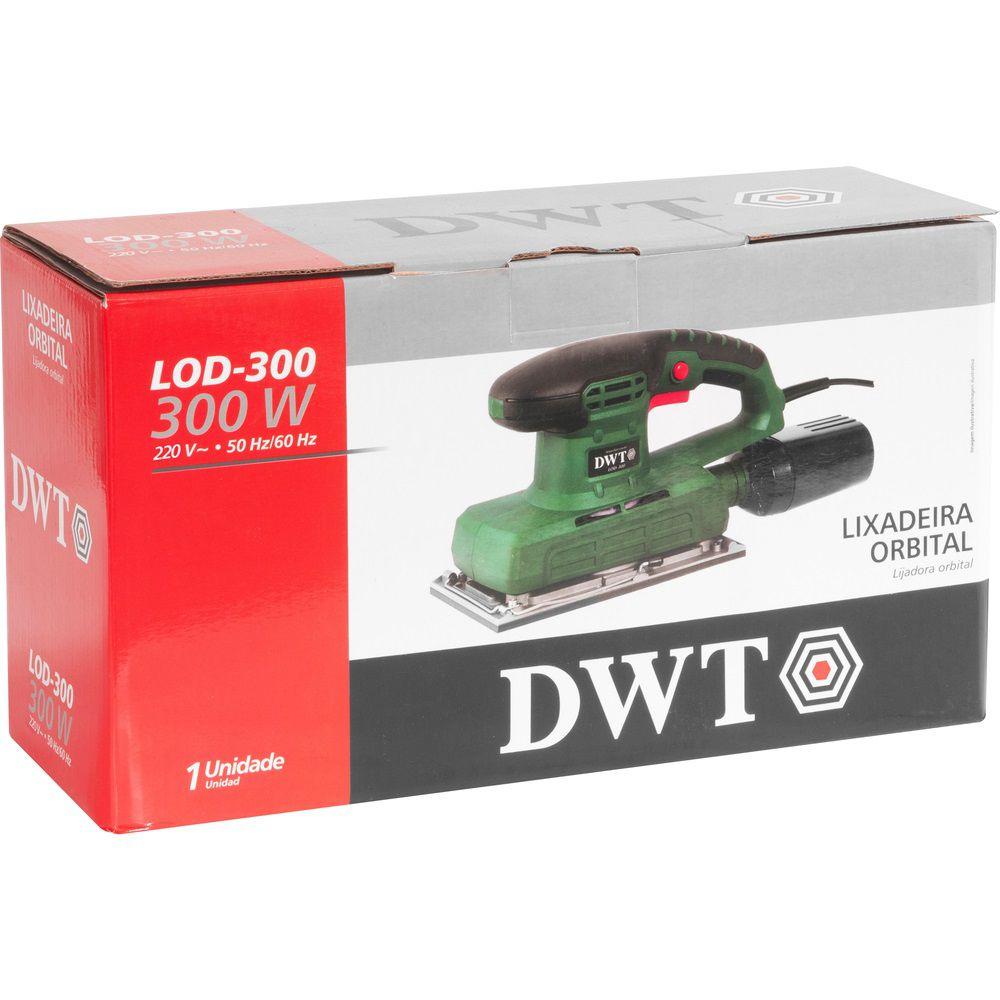 Lixadeira Orbital 300W LOD300 220V DWT