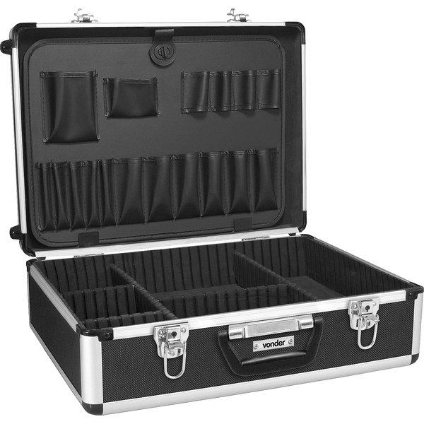 Maleta para ferramentas profissional preta MFV 931 VONDER