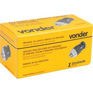 Mandril  aperto rápido de precisão B12 Vonder