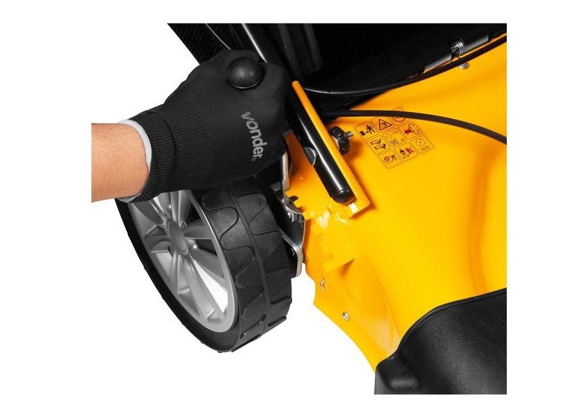 """Máquina a gasolina para cortar grama 18"""" 3,6HP MGV 184T VONDER"""